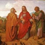 Les disciples d'Emmaüs Joseph von Führich (19e)