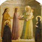 Présentation de Jésus au Temple Fra Angelico - Cell 10