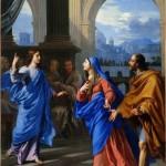 Le Recouvrement de Jésus au Temple Ph. de Champaigne (17e)