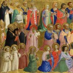Retable de Fiesole (détail) Beato Fra Angelico (15e)