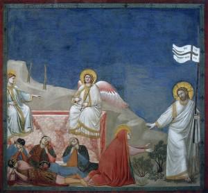 Resurrezione Giotto (14e) Cappella degli Scrovegni-Padova