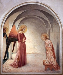 Annonciation Fra Angelico (15e)