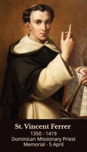 St Vincent Ferrier