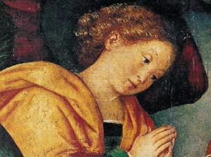 Prière des anges (détail) Gaudenzio Ferrari (16e)